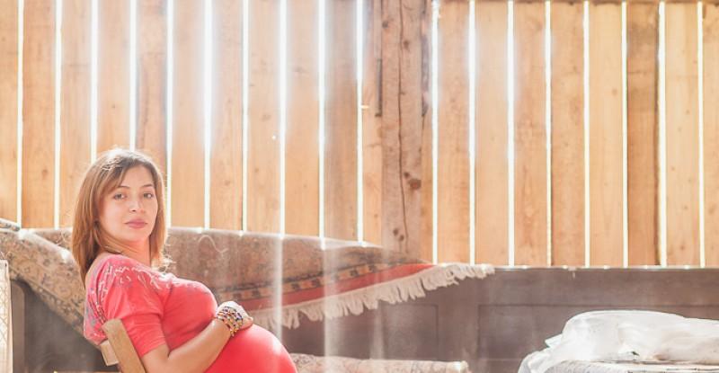 Sedinta foto matenitate  – Coria si Raul