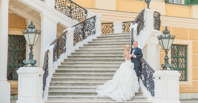 Fotografie de nunta – Alexandrina si Vlad – Trash de dress Viena